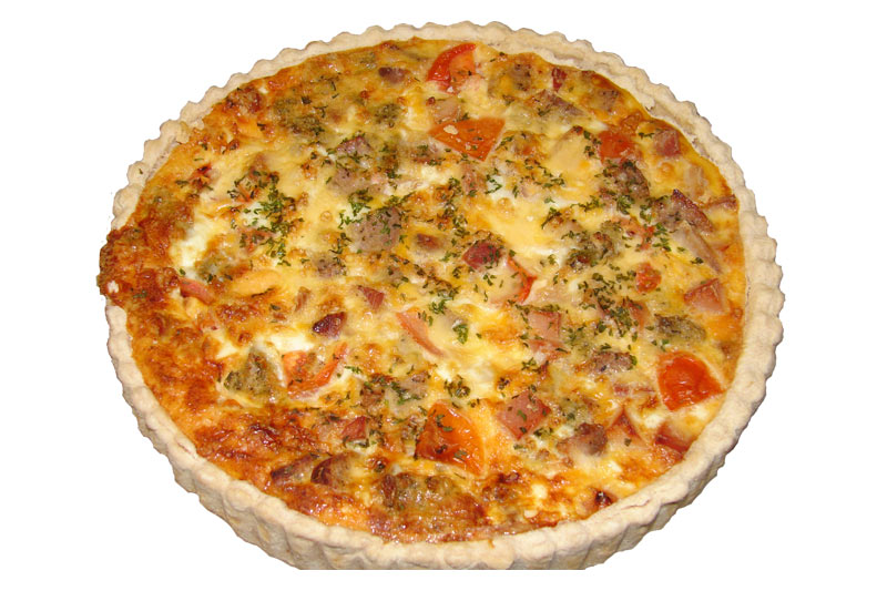 ham-cheese-tomato-quiche